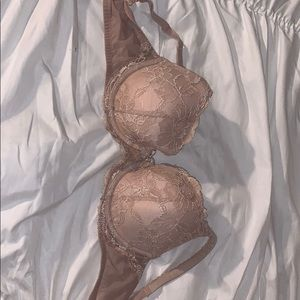 Victoria secret nude lace body bra 32DD